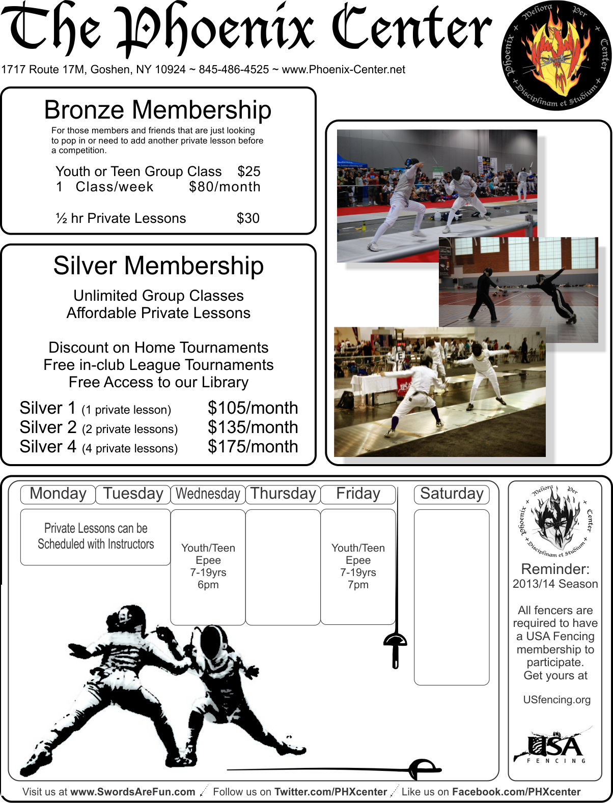 Goshen Membership & Rate info